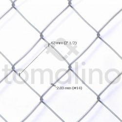 Alambre Tejido Romboidal 2 ½´, Alt 1.25m, ønº14, Largo 10mts
