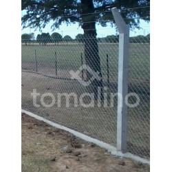 Poste De Hormigón Armado Para Cerco Olímpico Tipo Intermedio 10 X 10 X 290 Cm
