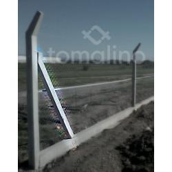 Poste De Hormigón Armado Tipo Puntal 8 X 10 X 240 Cm