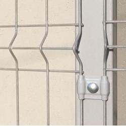 Poste Caño Metalico 60x60 X 1,00 M Gris